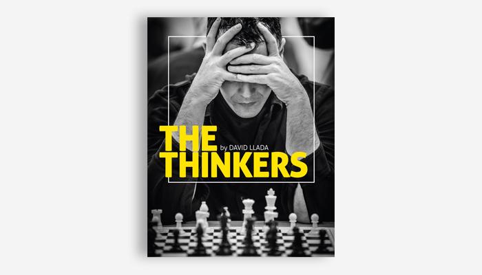 "Portada de ""The Thinkers""."